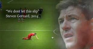 'Slippy G' Gerarrd's slip costs Liverpool the Premier League