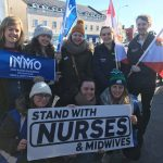 Student Nurses speak out in support of strike