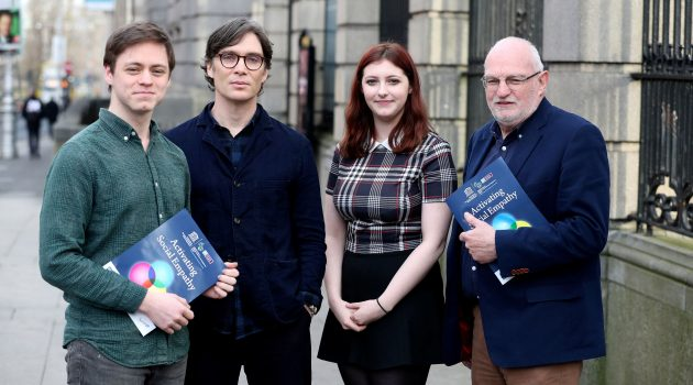 Cillian Murphy launches new Empathy Action programme with NUI Galway